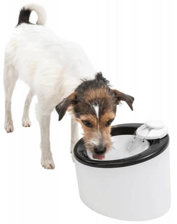 Automatyczne poidło Triple Flow Fontanna z miską dla psa i kota