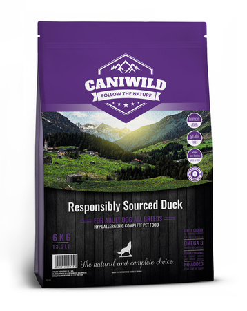 Caniwild Adult Freshly Prepared British Duck 2kg Kaczka