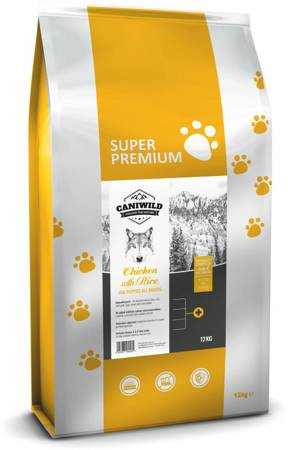 Caniwild Puppy Chicken with Rice 12kg