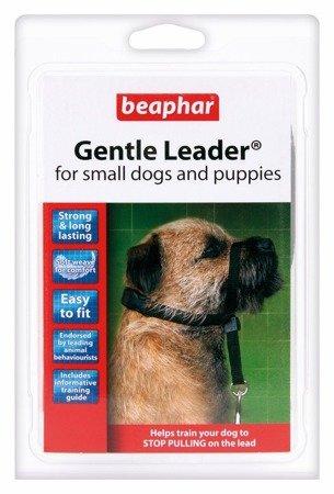 Kantar, obroża uzdowa dla psów małych ras Holter Gentle Leader czarna