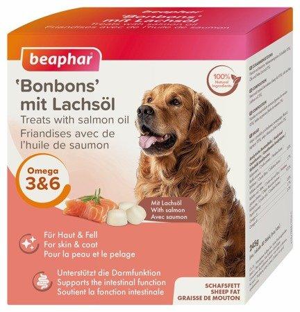 Praliny z łososiem dla psa Lachsol Bonbons 245g