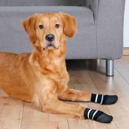Skarpetki antypoślizgowe dla psów L Skarpetka dla psa 2 sztuki