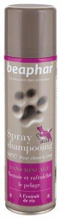 Suchy szampon premium dla psa i kota Spray oczyszczający do sierści z dodatkiem perfum 250ml