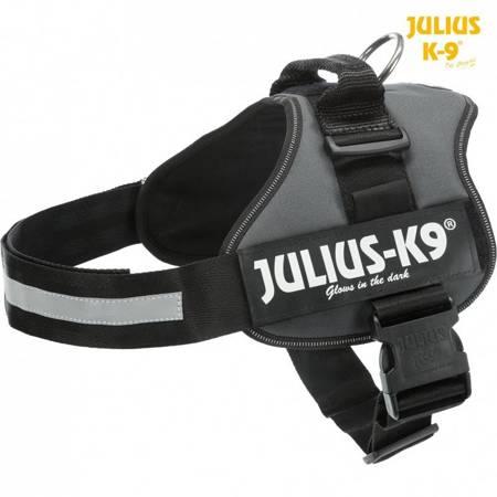 Szelki Julius-K9® Powerharness® dla psa antracyt