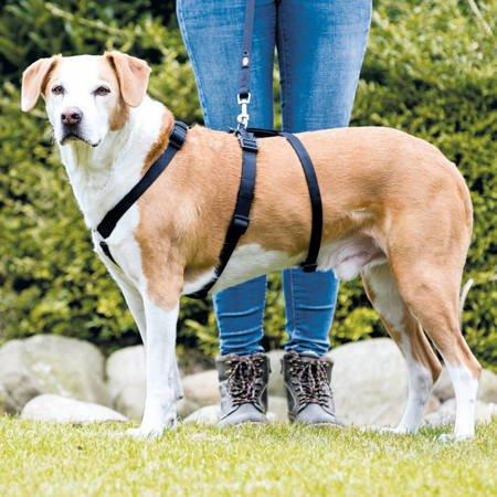 Szelki Panic Stay chroniące przed ucieczką psa XS-S czarne